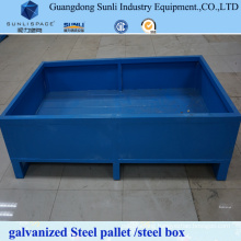 1t Rack Manufacturers Lockable Steel Pallet Box